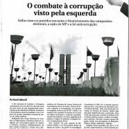 O combate à corrupção visto pela esquerda