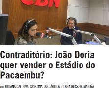 Contraditório: João Doria quer vender o Estádio do Pacaembu?