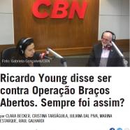Ricardo Young disse ser contra Operação Braços Abertos. Sempre foi assim?