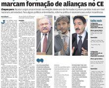 Contradições marcam formação de alianças no CE